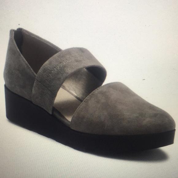 bbc24c61bca Eileen Fisher Shoes - EILEEN FISHER Marlow Suede Platform Wedge NEW